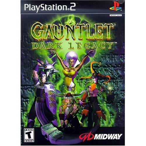Ps2 Gauntlet Dark Legacy T