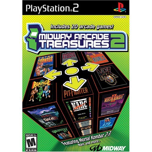 Ps2 Midway Arcade Treasures 2