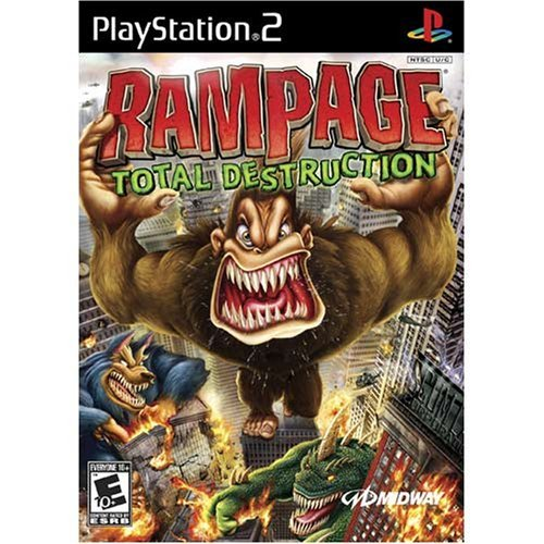 Ps2 Rampage Total Destruction