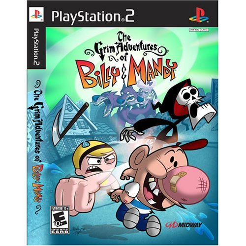 Ps2 Grim Adventures Of Billy And Mandy