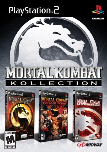 Ps2 Mortal Kombat Collection