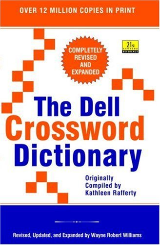Wayne Robert Williams The Dell Crossword Dictionary