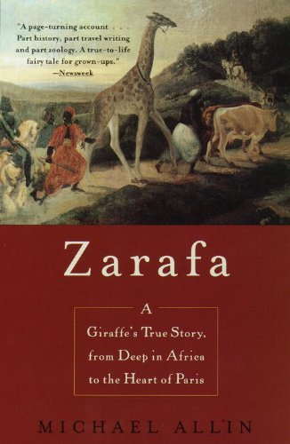 Michael Allin Zarafa Giraffe's True Story From Deep In Africa To T
