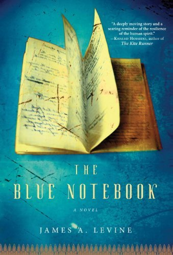 James A. Levine Blue Notebook The