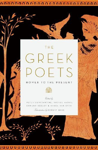 Peter Constantine The Greek Poets Homer To The Present