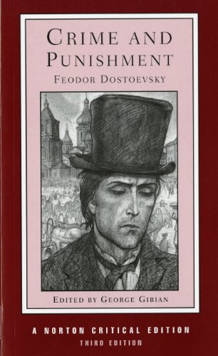 Fyodor Dostoevsky Crime And Punishment The Coulson Translation Backgrounds And Sources 0003 Edition;