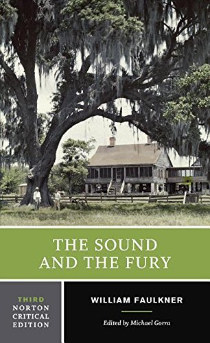 William Faulkner The Sound And The Fury 0002 Edition;