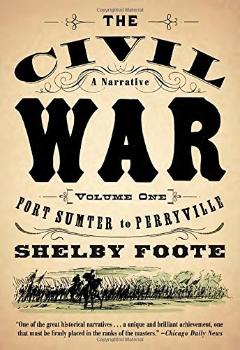 Shelby Foote The Civil War A Narrative Volume 1 Fort Sumter To Perryville