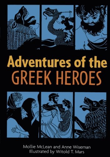 Witold T. Mars Adventures Of The Greek Heroes