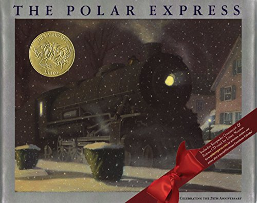 Van Allsburg Chris Polar Express [with Cardboard Ornament] The 0025 Edition;anniversary