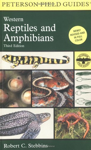 Roger Tory Peterson A Field Guide To Western Reptiles And Amphibians 0003 Edition;