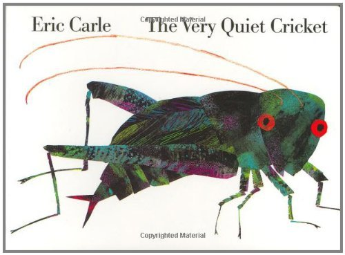 Eric Carle The Very Quiet Cricket Board Book