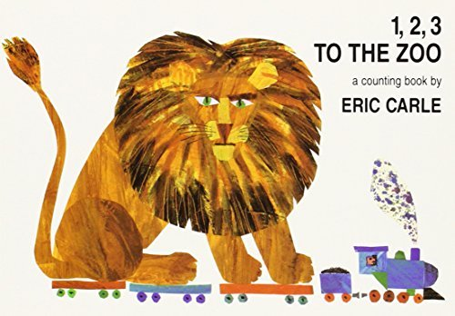 Eric Carle 1 2 3 To The Zoo A Counting Book Board Book