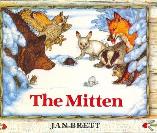 Jan Brett Mitten The A Ukrainian Folktale