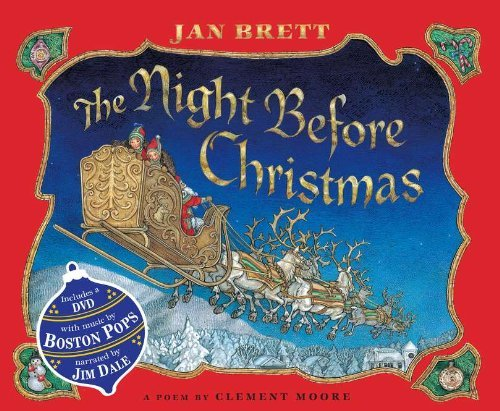 Jan Brett Night Before Christmas [with Dvd] The
