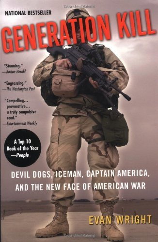Evan Wright Generation Kill Devil Dogs Iceman Captain America And The New