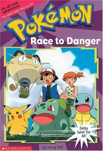 Tracey West Race To Danger Pokemon Chapter Book No.13