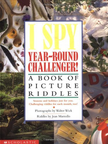 Jean Marzollo I Spy Year Round Challenger A Book Of Picture Riddles