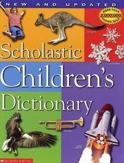 Scholastic Inc. Children's Dictionary