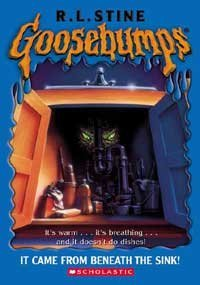 R. L. Stine Goosebumps #30 It Came From Beneath The Sink