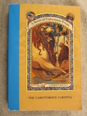 Lemony Snicket Carnivorous Carnival Series Of Unfortunate Events
