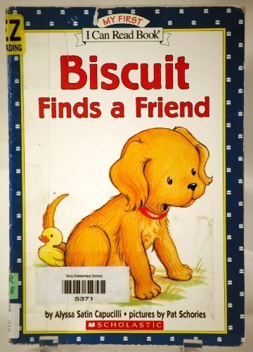 Alyssa Satin Capucilli Biscuit Finds A Friend