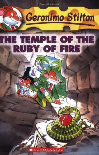 Geronimo Stilton Geronimo Stilton #14 The Temple Of The Ruby Of Fire