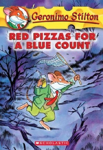 Geronimo Stilton Red Pizzas For A Blue Count