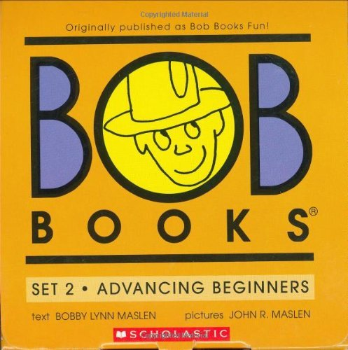 J. Maslen Bob Books Set 2 Advancing Beginners