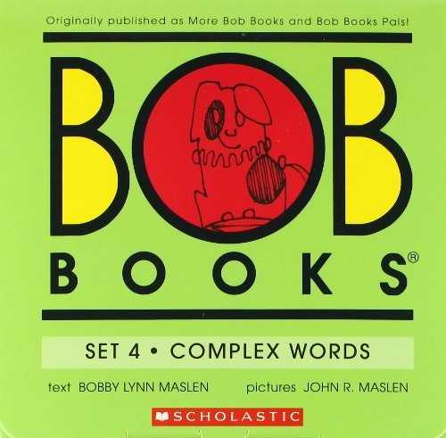 Bobby Lynn Maslen Bob Books Set 4 Complex Words