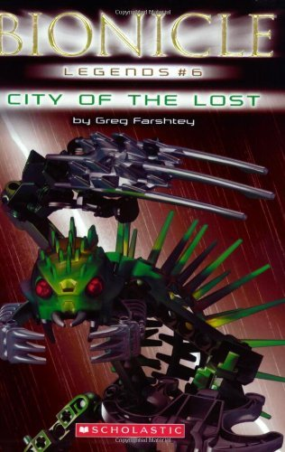Greg Farshtey City Of The Lost