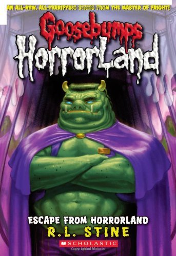 R. L. Stine Escape From Horrorland