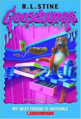 R. L. Stine Goosebumps #57 My Best Friend Is Invisible