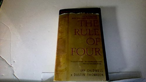 Ian Caldwell Rule Of Four The