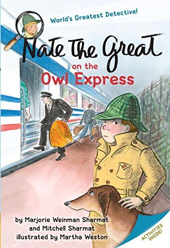 Marjorie Weinman Sharmat Nate The Great On The Owl Express