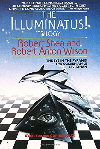 Robert Shea The Illuminatus! Trilogy The Eye In The Pyramid The Golden Apple Leviath