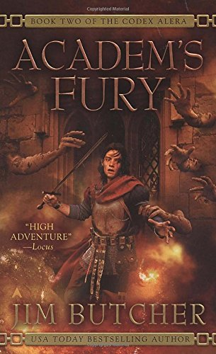 Jim Butcher Academ's Fury