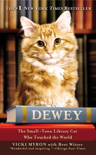 Vicki Myron Dewey The Small Town Library Cat Who Touched The World Large Print