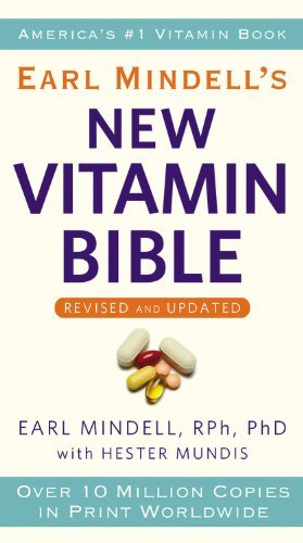 Earl Mindell Earl Mindell's New Vitamin Bible Revised Update