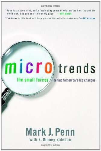 Mark J. Penn Microtrends Small Forces Behind Tomorrow's Big Changes