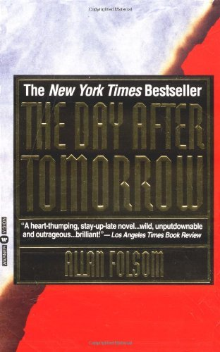 Allan Folsom The Day After Tomorrow Warner Books