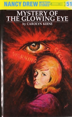 Carolyn Keene Nancy Drew 51 Mystery Of The Glowing Eye Revised
