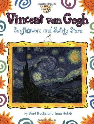 Joan Holub Vincent Van Gogh Sunflowers And Swirly Stars