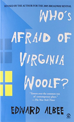 Edward Albee Who's Afraid Of Virginia Woolf? A Play