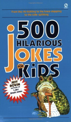 Jeff Rovin 500 Hilarious Jokes For Kids