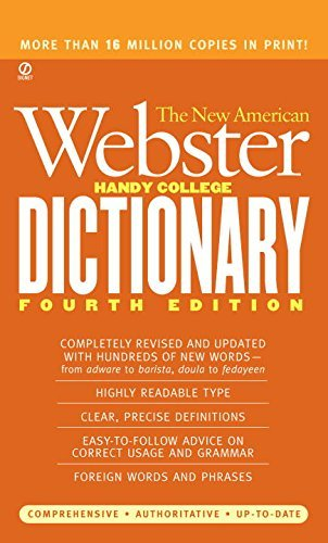 Philip D. Morehead The New American Webster Handy College Dictionary 0004 Edition;revised & Updat