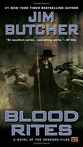 Jim Butcher Blood Rites