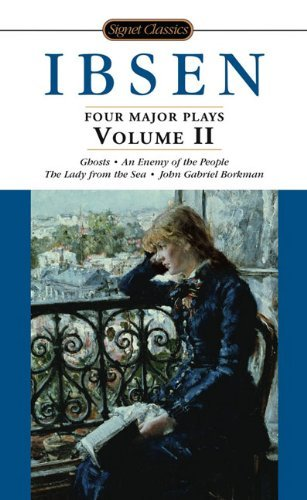 Henrik Ibsen Four Major Plays Volume Ii