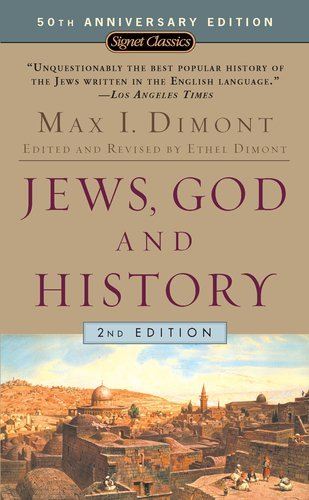 Max I. Dimont Jews God And History 0002 Edition;