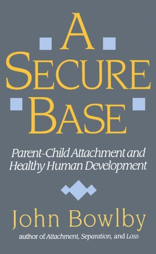 John Bowlby Secure Base Parent Child Attachment And Healthy Human Develop